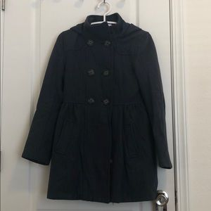 H&M Peacoat with Hood